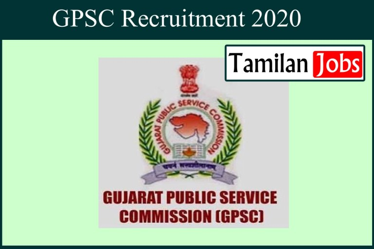 GPSC Recruitment 2020 Out – Apply Online Accounts Officer Jobs