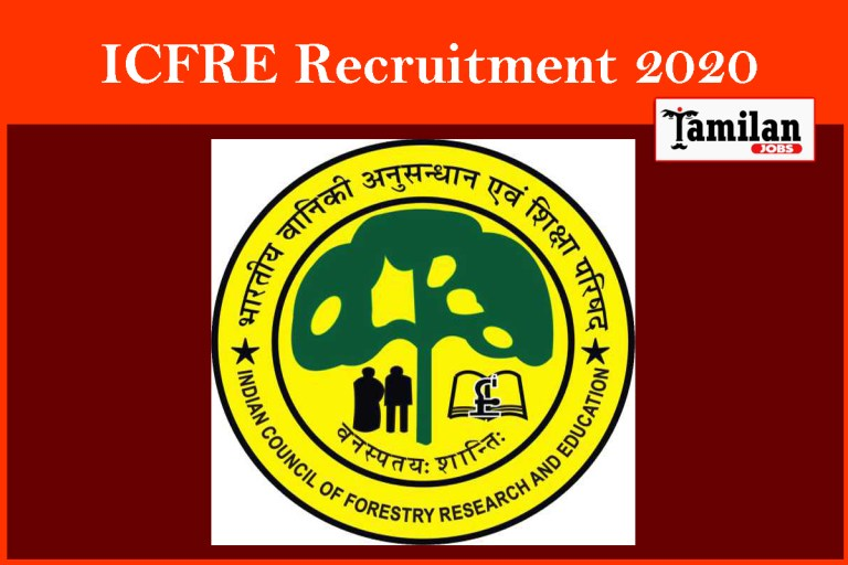 ICFRE Recruitment 2020 Out – Apply Project Assistant Jobs