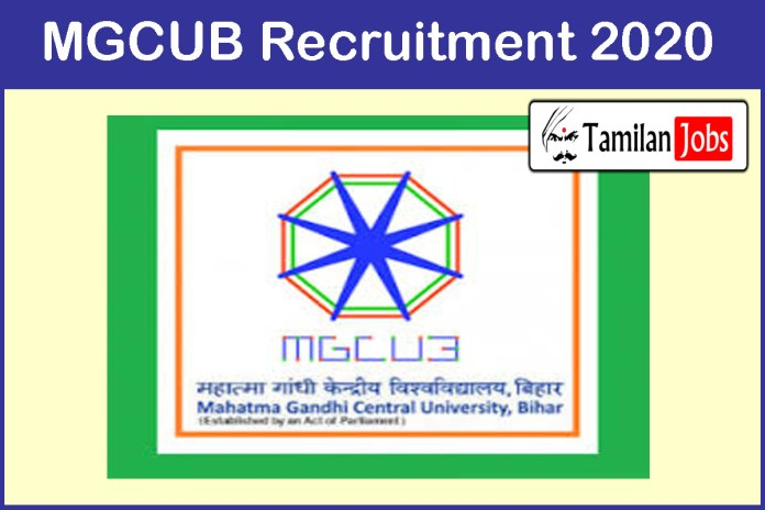 MGCUB Recruitment 2020 Out – Apply Non-Teaching Jobs