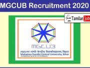 MGCUB Recruitment 2020