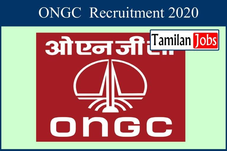 ONGC Recruitment 2020 Out – Apply FDMO, CMO Jobs