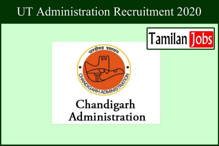 UT Administration Recruitment 2020