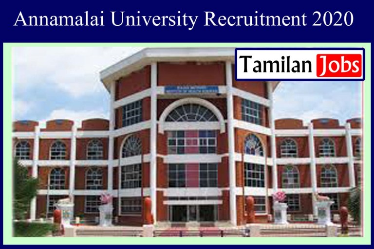Anna University Recruitment 2020 Out – Apply Analyst Manager Jobs
