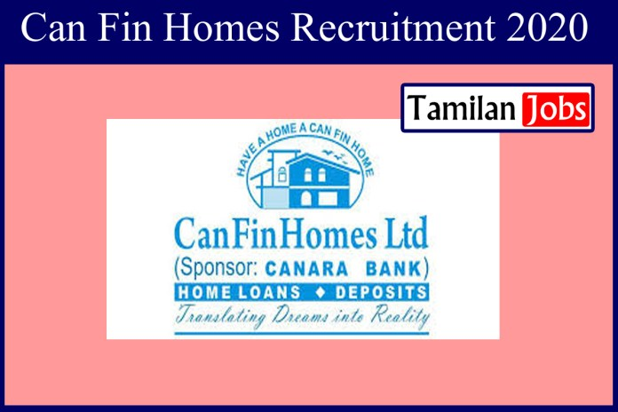 Can Fin Homes Recruitment 2020 Out – Senior Manager Jobs
