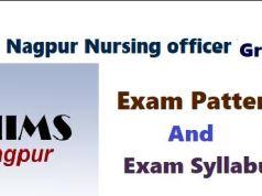AIIMS Nagpur Nursing Officer Syllabus