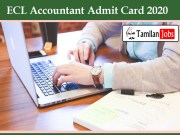 ECL Accountant Admit Card 2020