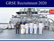 GRSE Recruitment 2020