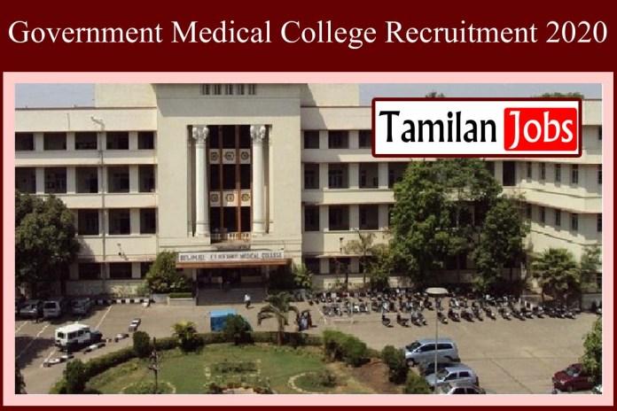 Gmc Jammu Recruitment 2020 Out Registrar Jobs