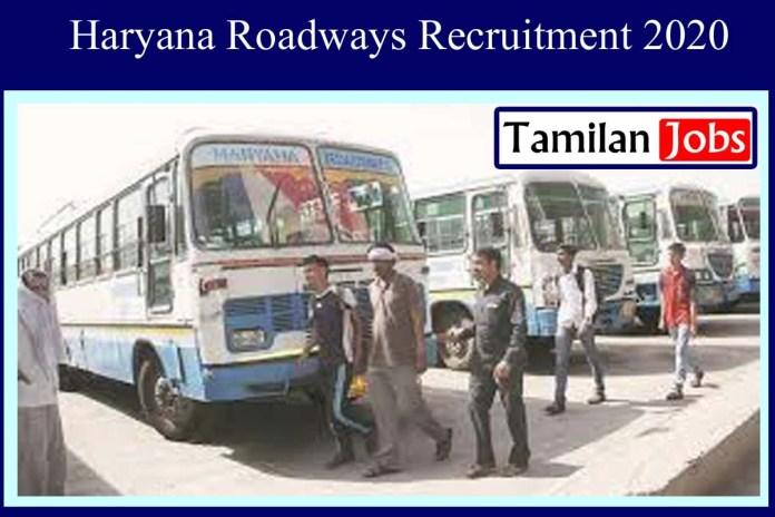 Haryana Roadways Recruitment 2020 Out – 89 Clerk Jobs