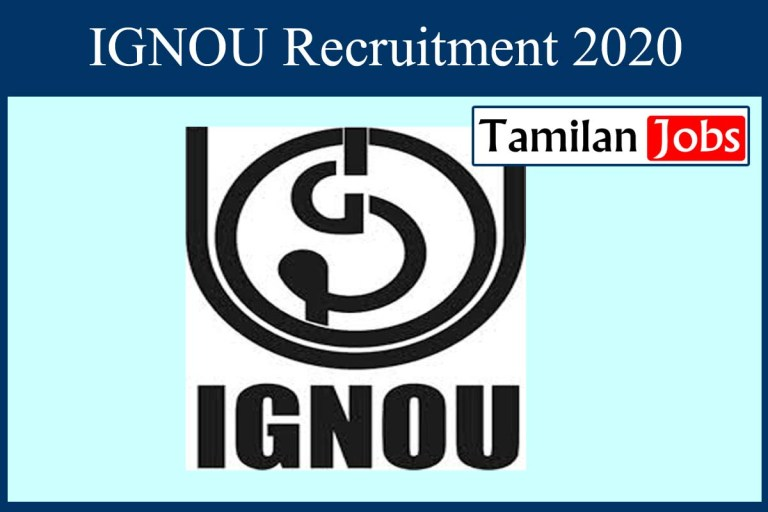 IGNOU Recruitment 2020 Out – Apply Care Taker, Aaya Jobs