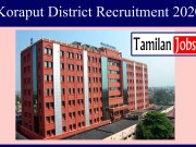 Koraput District Recruitment 2020