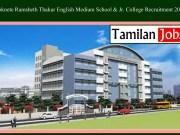 Loknete Ramsheth Thakur English Medium School & Jr. College Recruitment 2020