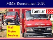 MMS Recruitment 2020