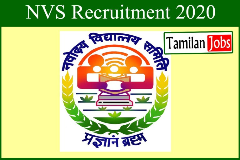 NVS Rajasthan Recruitment 2020 Out – Apply Online 21 Librarian, Teacher Jobs