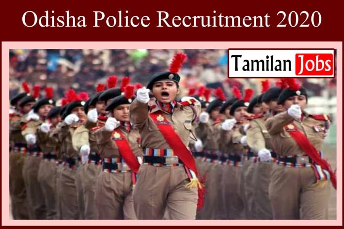 Odisha Police Recruitment 2020 Out – 231 Driver Jobs