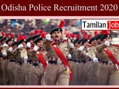 Odisha Police Recruitment 2020