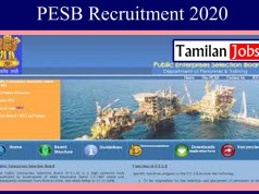 PESB Recruitment 2020
