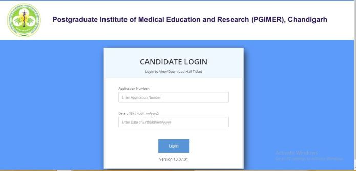 PGIMER LDC Admit Card 2020 OUT | Download Group A, B, C Exam Date