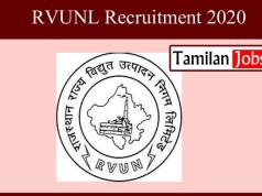 RVUNL Recruitment 2020