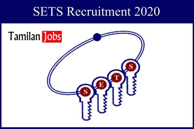 SETS Recruitment 2020