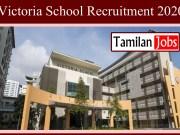 Victoria School Recruitment 2020
