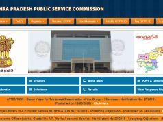 APPSC Gazetted Officer Hall Ticket 2020