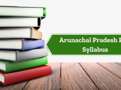 Arunachal Pradesh Civil Service Exam Syllabus 2020 PDF