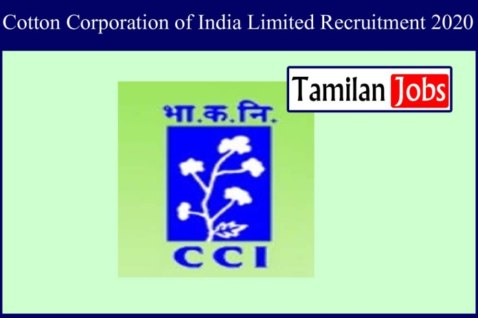 Cotton Corporation of India Limited Recruitment 2020 Out – Apply 01 Driver Jobs