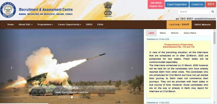 DRDO CVRDE Apprentice Result 2020 | Merit List, Selection List @ rac.gov.in