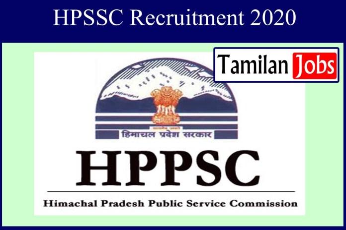 HPSSC Recruitment 2020 Out – Apply 290 Clerk Jobs
