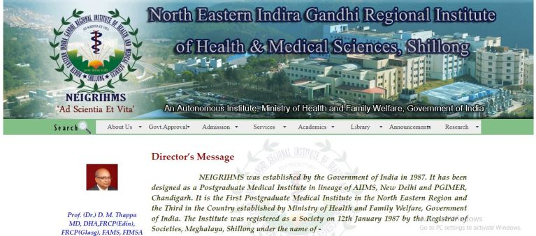 NEIGRIHMS Nursing Officer Admit Card 2020 Ready to Release Soon | Group B, C Exam Date