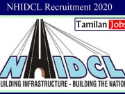 NHIDCL Recruitment 2020