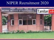 NIPER Recruitment 2020