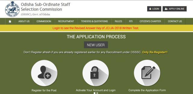 OSSSC Junior Clerk Result 2020
