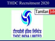 THDC Recruitment 2020