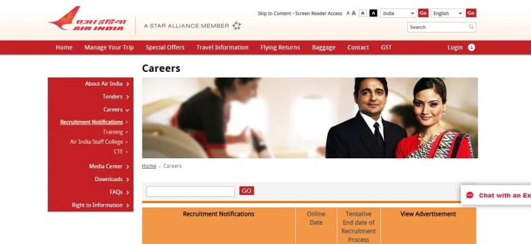 AASL Supervisor Admit Card 2020 Yet to Released Soon   Check Supervisor Security Exam Date @ airindia.in