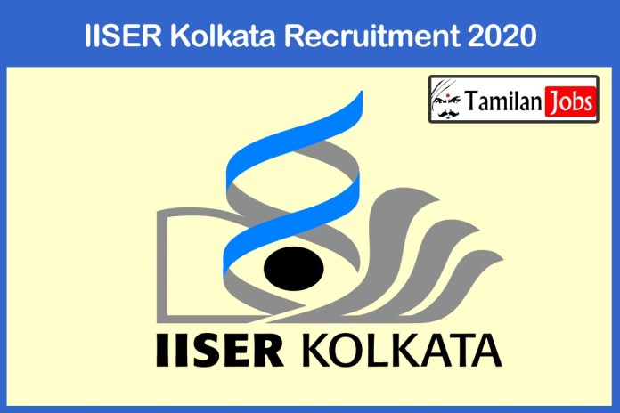 IISER Kolkata Recruitment 2020 Out – Candidates Can Apply For JRF Jobs
