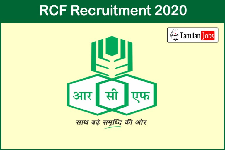 RCFL Recruitment 2020 Out – Apply 26 Honorary Doctors and Panel Doctors Jobs