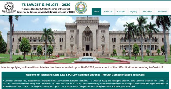 TS LAWCET Admit Card 2020, Hall Ticket, Exam Date out @ lawcet.tsche.ac.in