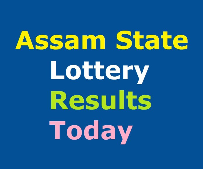 Assam State Lottery Result Today