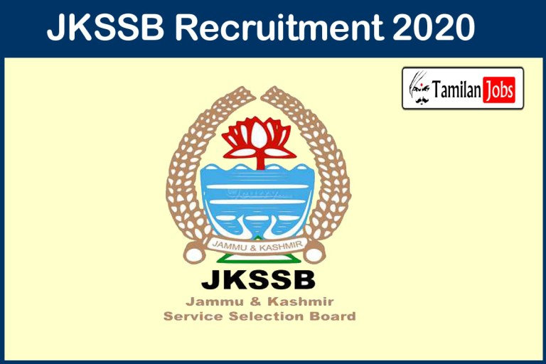 JKSSB Recruitment 2020 Out – 10th, 12th Candidates Can Apply 8575 Class IV Jobs