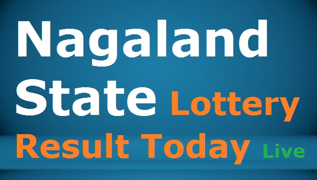 Nagaland State Lottery Result Today Live