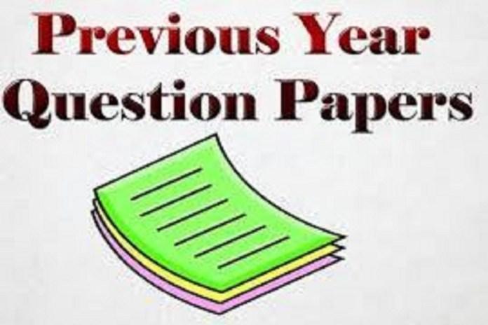VSUPGCET Previous Question Papers
