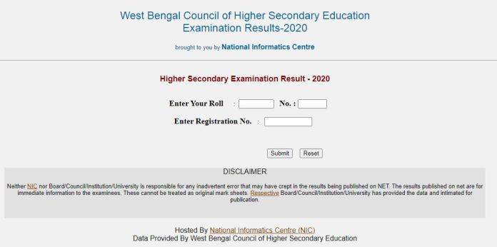 WBCHSE HS Result 2020 OUT, West Bengal 12th Results @ wbresults.nic.in