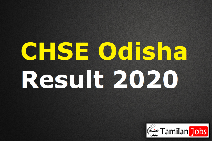 CHSE Odisha Result 2020 Date, Odisha Plus Two (+2) Results @ orissaresults.nic.in