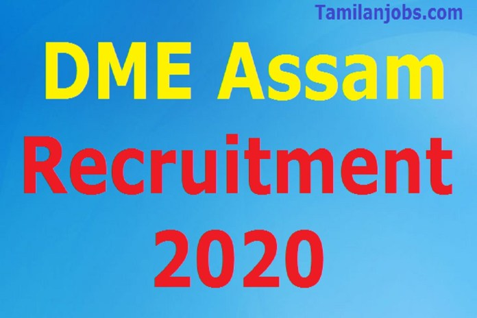 DME Assam Recruitment 2020 Out – Apply Online 150 Staff Nurse Jobs