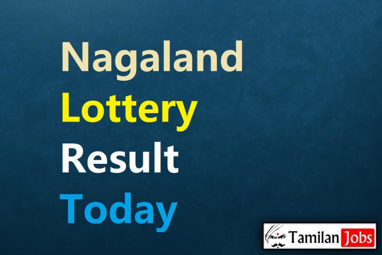 Nagaland State Lottery Result Live Today 30.1.2021, 8 PM, Night, Evening