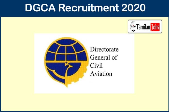 DGCA Recruitment 2020
