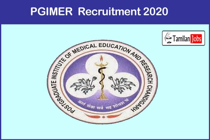 PGIMER Recruitment 2020 Out – Apply Assistant Professor Jobs