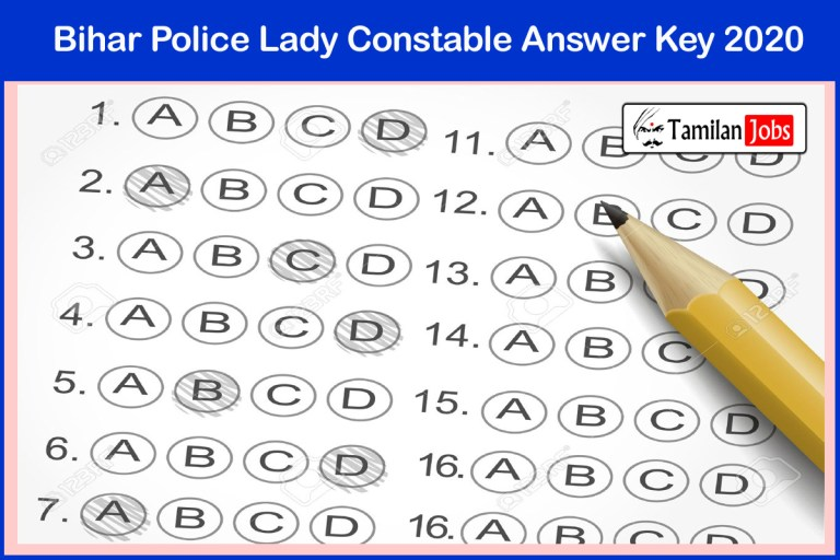 Bihar Police Lady Constable Answer Key 2020 PDF | Download Exam Key, Objections
